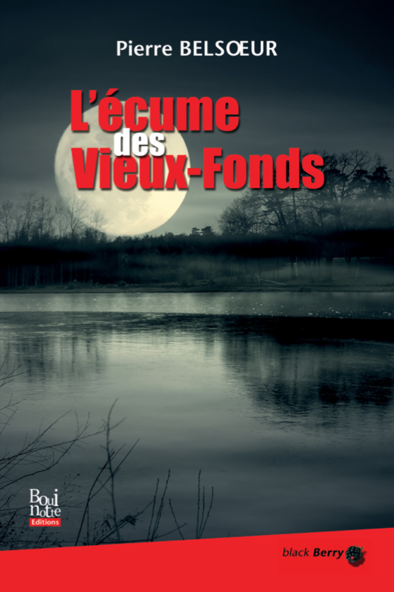 L'écume des Vieux-Fonds, Pierre Belsœur (couverture)