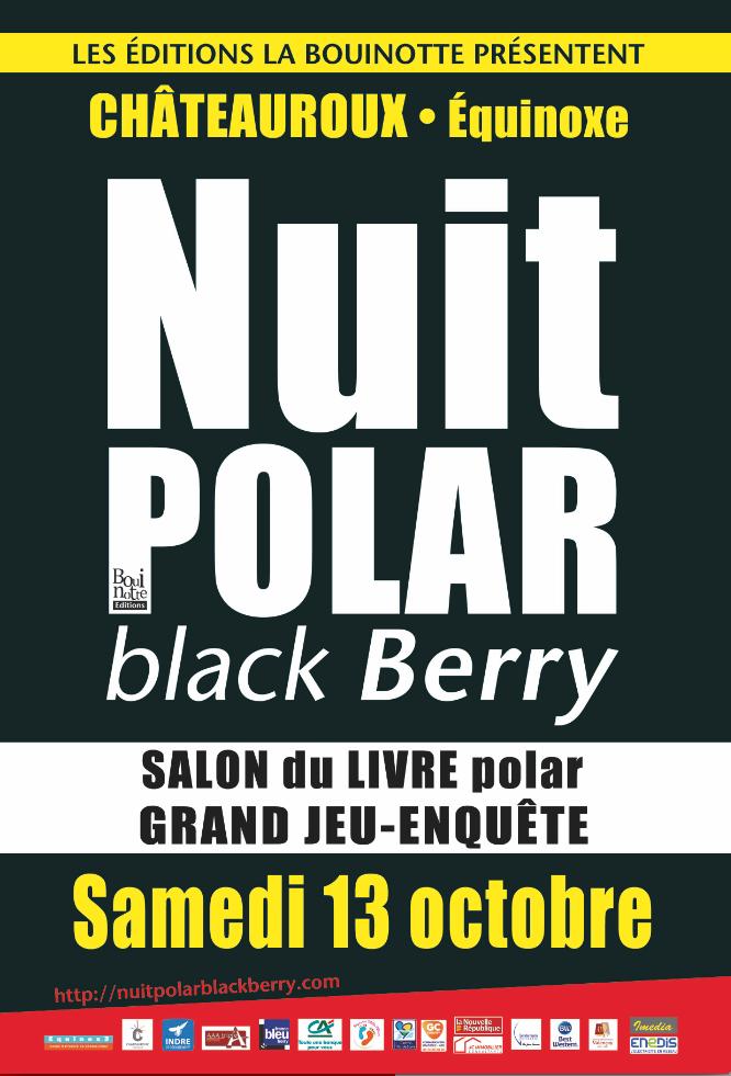 Affiche Nuit du polar 2018