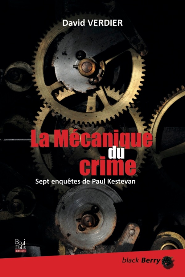 La mécanique du crime, David Verdier (couverture)